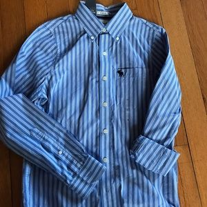 Abercrombie Men's S NWT Button Shirt Muscle